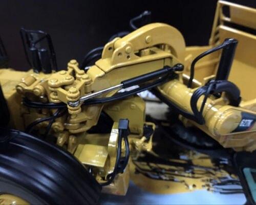RARE Caterpillar Cat 627 K roue tracteur-grattoir 1/50 moulé sous pression maîtres DM #85921 - 2