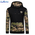 QA Camo Hoodies Autumn 2016 Men Sportwear Pullovers Comfortable Casual Hip hop Sweatshirt Plus Size