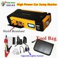 12V Multi-Function 16000mAh Car Jump Starter 4USB Power Bank Compass SOS Lights 600A Peak Car Charger Better than 68800mah