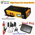12 В Многофункциональный 16000 мАч Автомобиль Скачок Стартер 4USB Power Bank Компас SOS Огни 600A Пик Автомобильное Зарядное Устройство лучше, чем 68800 мАч