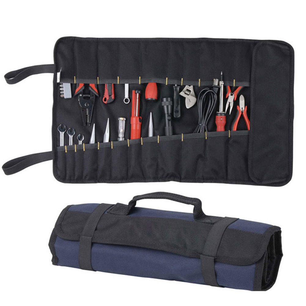 Portable Oxford Canvas Chisel Roll Rolling Repairing Tool Utility Bag Multifunctional With Carrying Handles Brand New In Storage Bags From Home