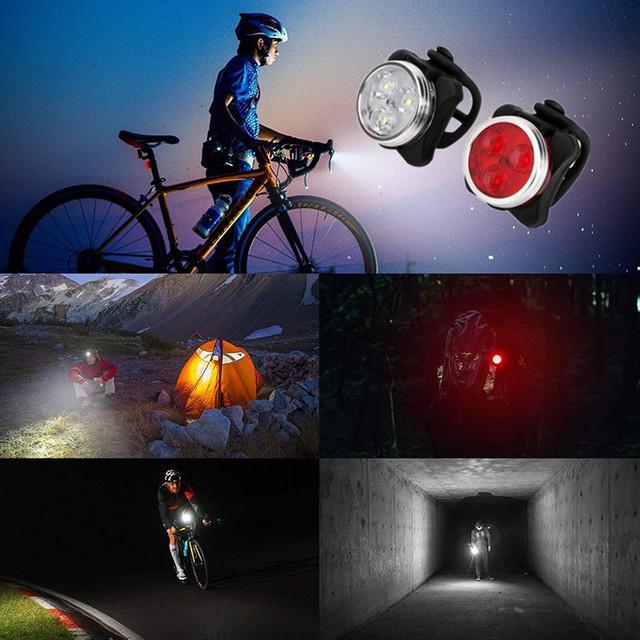 Jazda na rowerze Q5 LED 3 tryby przednie światło reflektor reflektorów latarka wodoodporna dla Mountain Road Bike 4 kolory rower światło tanie i dobre opinie Baterii DEDOMON w Ramki Światło rowerowe Z80406140455001 Reflektor światło rowerowe XML-Q5 Wbudowana bateria (zawiera 2x2032 li Battery)