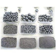 Haute précision G10 mini billes d'acier 0.8 1.2 1.588 1.5 2 2.381 2.5 2.778 3 3.175 3.5 3.969 4 4.5mm GCR15 Acier à roulement à billes