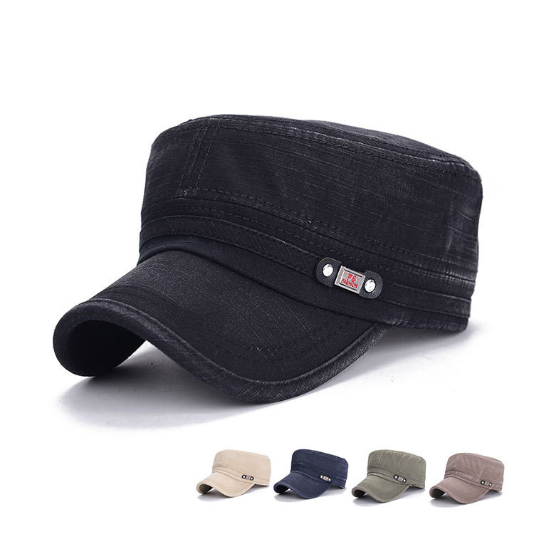 US $3 98 30% OFF|New Brand Sports breathable Chapeu snapback Baseball caps  Women Men make old Casquette Service Army Military Hats-in Men's Military