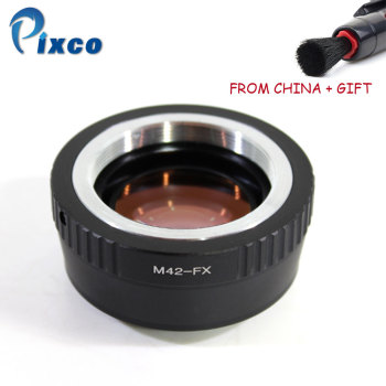 ADPLO 011247, M42-FX Focal Reducer Speed Booster, Suit for M42 Lens to Suit for Fujifilm X Camera