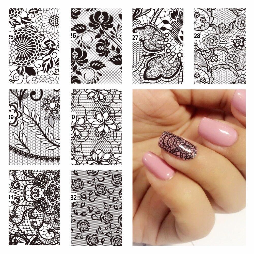Картинки переводные для ногтей