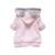 Roupas Da Moda 2016 Crianças Desenhos Animados do Coelho Fleece Outerwear moda roupas de menina/jaqueta com capuz/Casaco de Inverno de roupa infantil