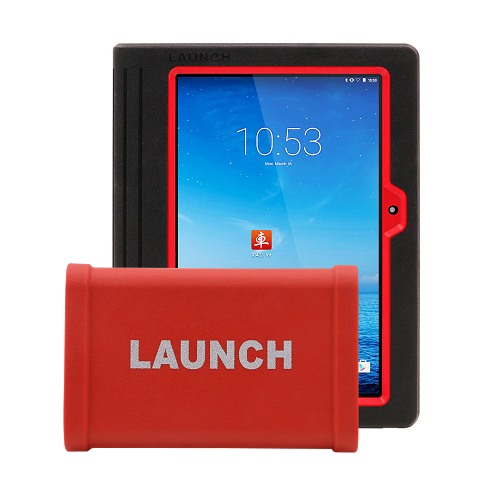 Launch X431 V+ tablet & Heavy duty adapter box (1)