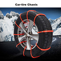 Car Snow Tire Chains Universal Mini Winter Tyre wheels Snow Chains For Car Suv truck Car-Styling Autocross Outdoor Tire Chains