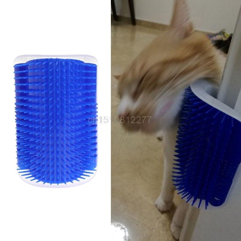 Pet <font><b>cat</b></font> <font><b>Self</b></font> <font><b>Groomer</b></font> Grooming Tool <font><b>Hair</b></font> <font><b>Removal</b></font> <font><b>Brush</b></font> <font><b>Comb</b></font> for Dogs <font><b>Cats</b></font> <font><b>Hair</b></font> Shedding Trimming <font><b>Cat</b></font> Massage Device with catnip