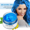 Color Hair Wax Styling Pomade Silver Grandma Grey Temporary Dye Disposable Fashion Festival Celebrate Molding Coloring Mud Cream 2