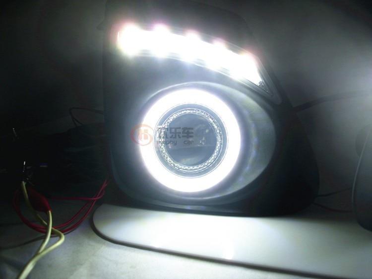 eOsuns COB Angel eye + LED დღისით - მანქანის განათება - ფოტო 5