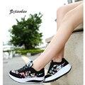2016 de la moda de zapatos deportivos de marca zapatos casuales zapatos de plataforma de las mujeres zapatos de mujer transpirable entrenadores damas calzado chaussure femme dr16