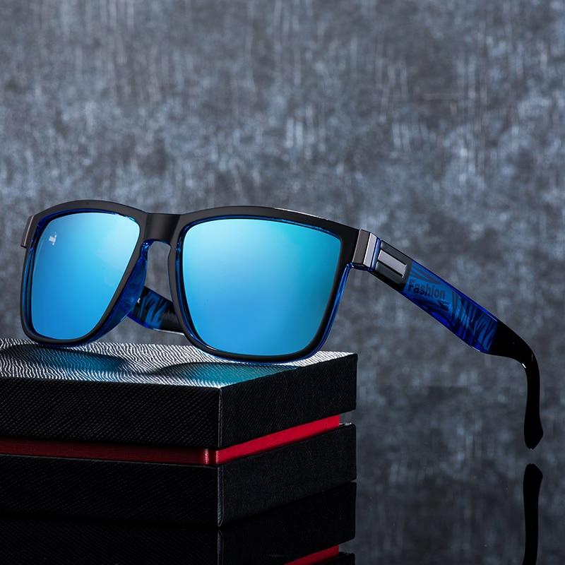 ASOUZ 2019 New Men's Polarized Sunglasses UV400 Fashion Square Ladies Glasses Classic Retro Brand Design Driving Sunglasses