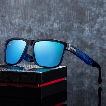 ASOUZ 2019 new mens polarized sunglasses UV400 fashion square ladies glasses classic retro brand design driving