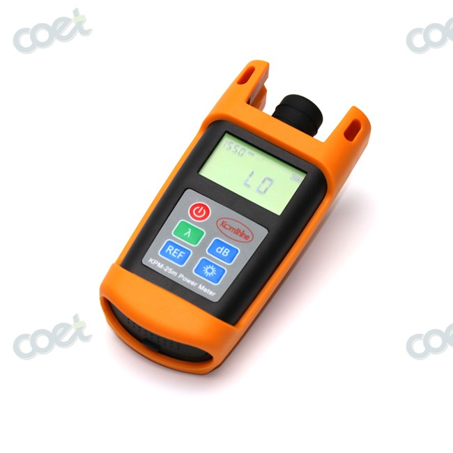 FTTH Fiber Optical Test Tool Fiber Optic Power Meter OPM Tester +10 to -70dBm For SC con ...