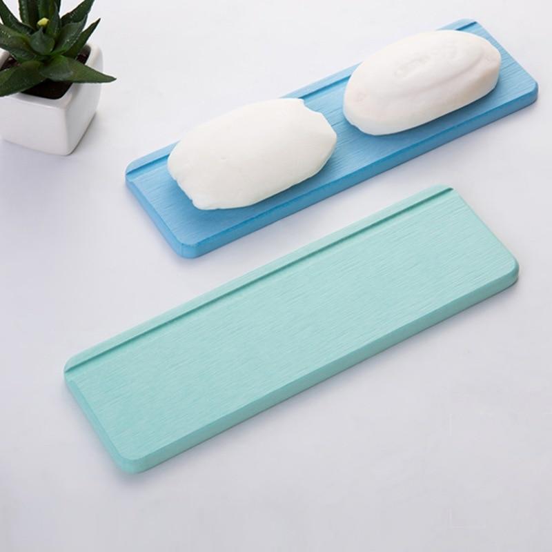 Absorbent Pad Slip-resistant Diatom Mud Wash Mat Diatomaceous Earth Washbasin Coaster Beard Knife Soap Dish Holder Tray
