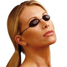 Flexible Uv Eye Protection Indoor & Outdoor Sunbed Tanning Goggles Beach Sunbathing Eyewear Soft adjustable