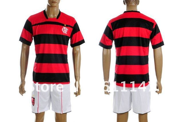 48ded450f Free shipping 2011 12 Flamenco soccer uniforms