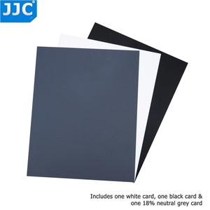 Image 4 - JJC Camera Accurate Color Balancing Tool Water Resistant 3 in 1 Digital Grey Card for Canon/Sony/Nikon/Olympus/Fujifilm/Pentax