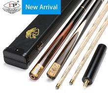 New LP Ash High-end Handmade 3/4 Piece Cue Kit with Excellent Portable Case 10mm Tip Snooker Stick 19 oz Made in China 2019