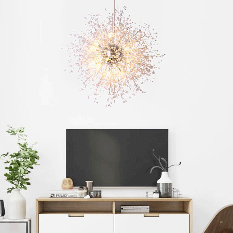 Modern Crystal Chandelier Light LED Chandelier Lighting Fixture Crystal Pendant Hanging Lamp Living Dining Room Bedroom Lighting crystal flower pendant light modern lighting living room lamp bedroom lamp aisle lighting