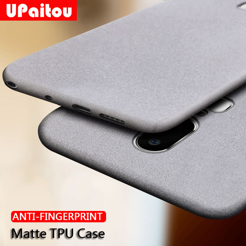 UPaitou Case for Oneplus 1+ 7 Pro 6T 6 5T 5 3 3T Anti Fingerprint Case Soft Silicone Matte Ultra Thin TPU Cover For 1+6T Case(China)