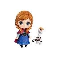 Chanycore GSC Nendoroid #550 Ice World ANNA Elsa Prinzessin Olaf PVC Action Figure Sammlung Modell Spielzeug 10 cm 4''