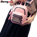 2017 new rivets backpack Mini fashion chest pack 2017 new Satchel on behalf of a trend