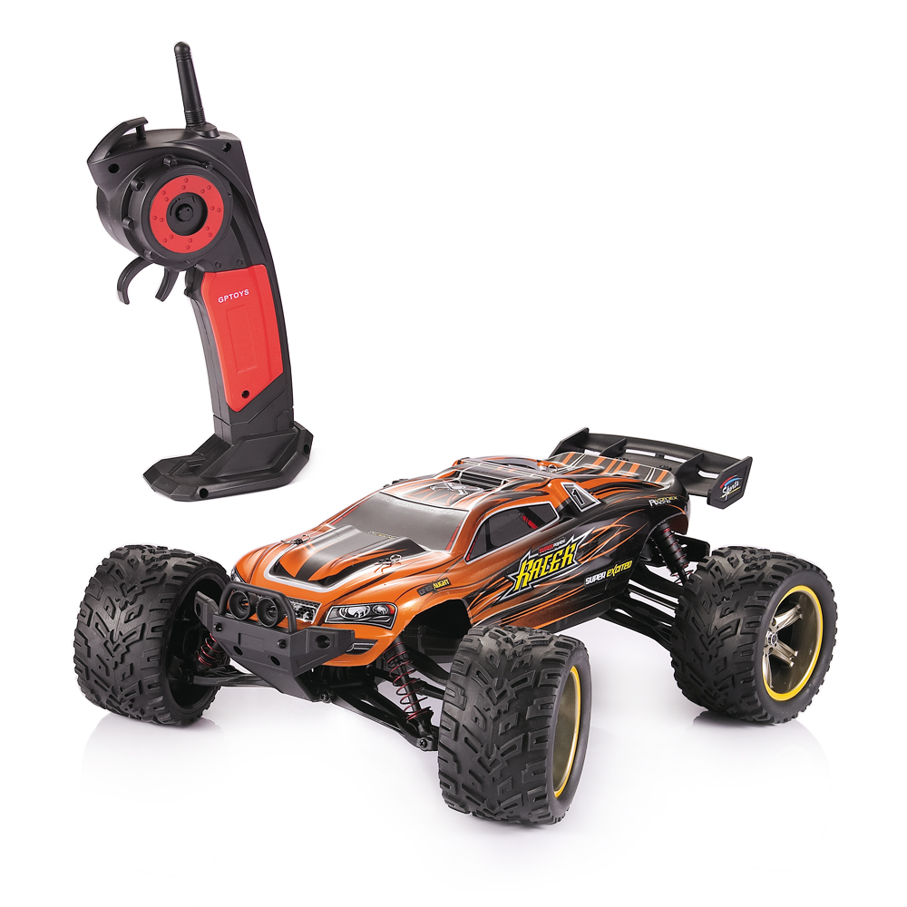 RC Car GPTOYS S912 Wireless 2.4G RC Off-Road Racing Car 1:12 Scale Electric Cars Remote Control Short Truck Off-Road Car hongnor ofna x3e rtr 1 8 scale rc dune buggy cars electric off road w tenshock motor free shipping