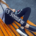 Workout Woman Fitness Leggings Slim Trouser Sporting  Letters  Pants Casual Fashion Elastic Slim Legging 7 Styles Can Choose