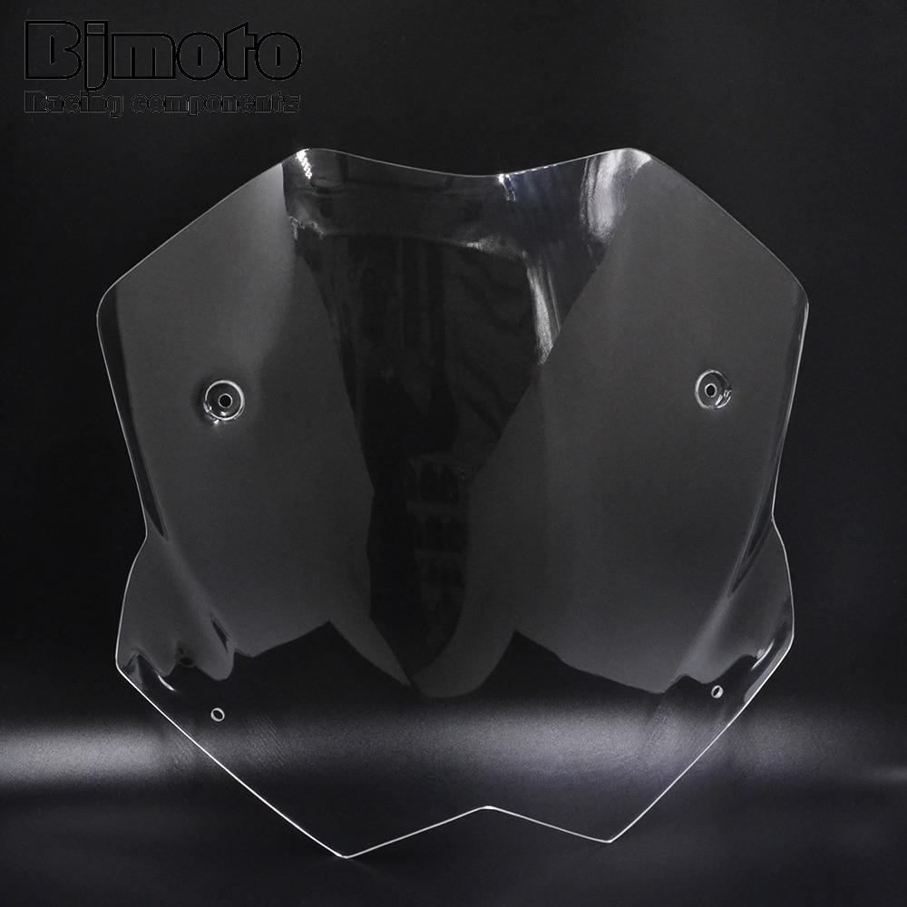 Bjmoto motorcycle TMAX 530 Short Windscreen Windshield Screen Protector For Yamaha Tmax 530 T-MAX530 2012 2013 2014 2015 2016 k sharpmotor k pcr tmax  motorcycle