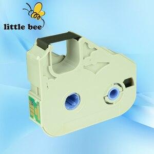 Image 1 - 10 pcs 잉크 리본 카세트 MK RS100B 100 m 3604b001 케이블 id 프린터 M 1 pro, M 1 std, M 1 proii