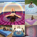 7Styles Large Retro Indian Mandala Tapestry Wall Hanging Boho Printed Beach Throw Towel Yoga Mat Bedding Outlet Home Table Decor