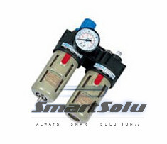 1/2'' BFC2000 Adjustable Pressure Air Source Treatment Unit With Pressure Gauge цена