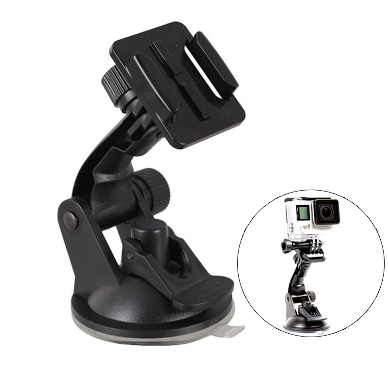 Do Promotion! Car Action Camera Mount Bracket Auto Camera Suction Cup Holder Compatible GoPro Hero HD