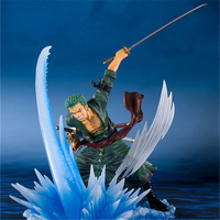 Anime Dramatic Film ZERO Roronoa Zoro Animation Figure 14.5cm