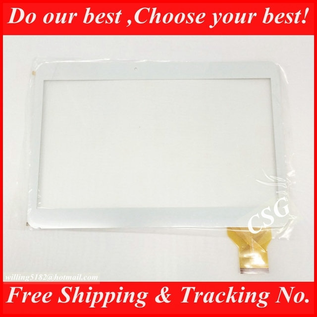 """2pcs/lot New YLD CEGA300 FPC AO Capacitive Touch Screen Panel Digitizer Glass Sensor For 10.1"""" 10.1inch N9106 TABLET"""
