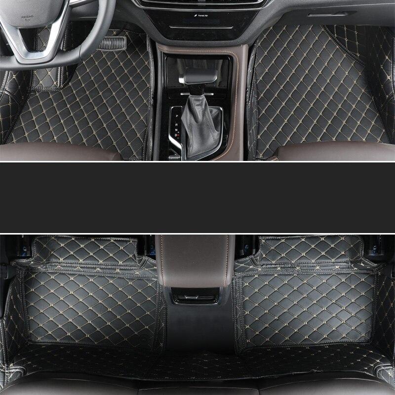 Lsrtw2017 fibre de luxe en cuir intérieur de voiture tapis de sol pour changan cs35 cs55 cs75 cs85 2012 2013 2014 2015 2016 2017 2018 2019