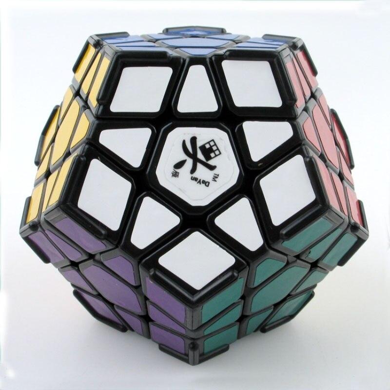 3x3 Sticker crête Dodecahedron Cube magique avec arêtes Puzzles Educativos jouets pour enfants cadeau (S8
