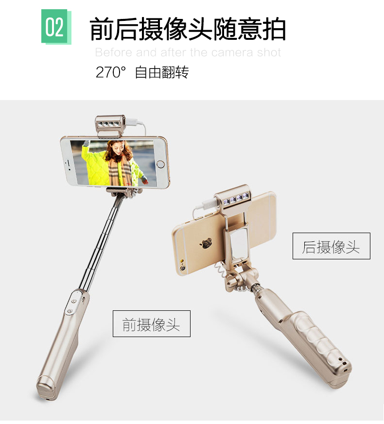 Omala font b Selfie b font font b Stick b font Extendable Pole Bluetooth Self Shooting