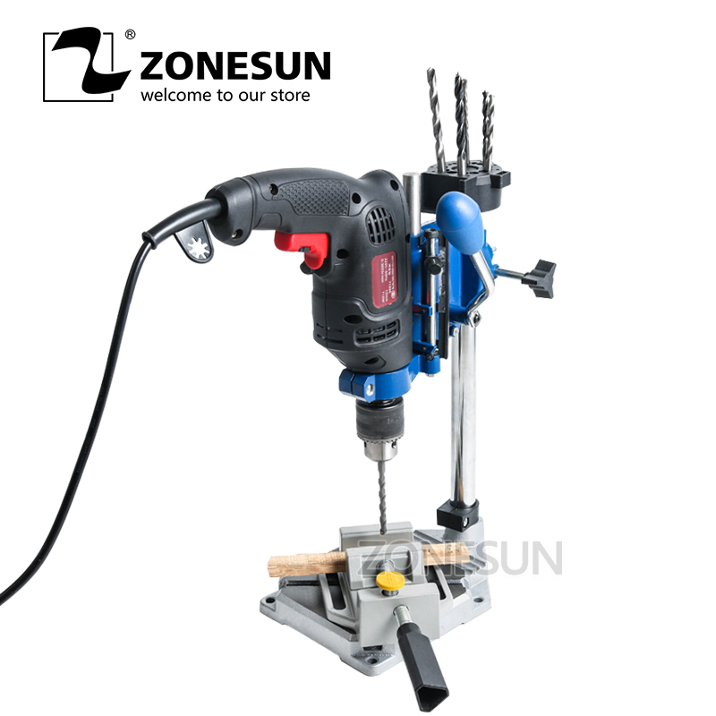ZONESUN drilling Machine Work Bench 38-43mm clamping holder for hold electric drilling machine milling machine supportorZONESUN drilling Machine Work Bench 38-43mm clamping holder for hold electric drilling machine milling machine supportor