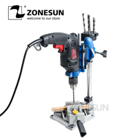 ZONESUN drilling Machine Work Bench 38 43mm clamping holder for hold electric drilling machine milling machine supportor