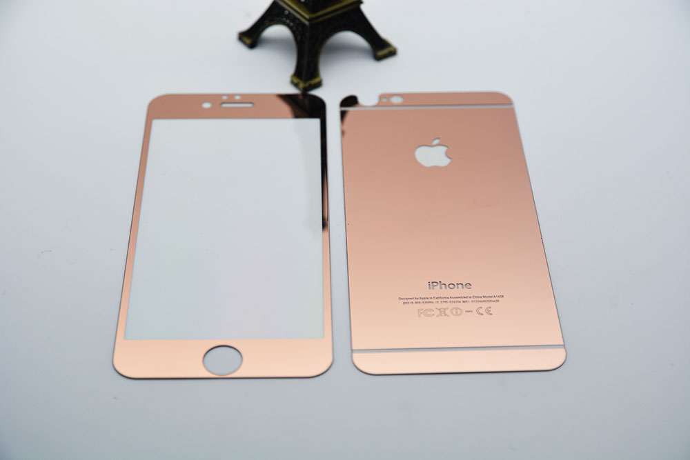 Gorgeous Fashion Cute For Apple Iphone 6 Plus 6s Rose Gold Steel Glass Film 02MM 9H Screen Protection On Aliexpress