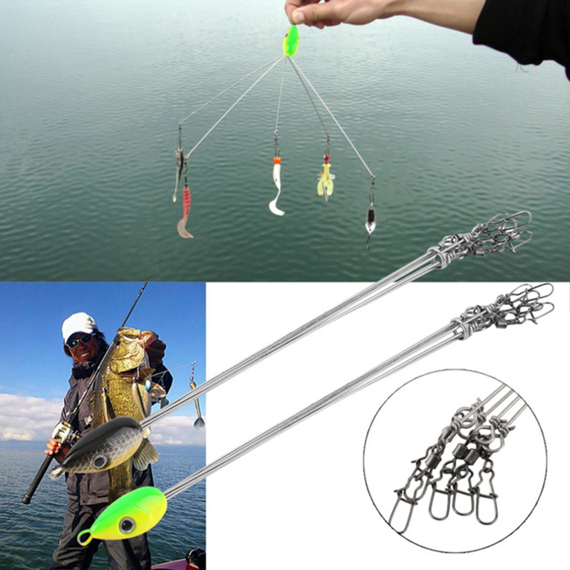 Fish Lures set Outdoors Convenient Fishing Hook Stainless Steel Equipment Multifunctional Fishing Tackle Combination