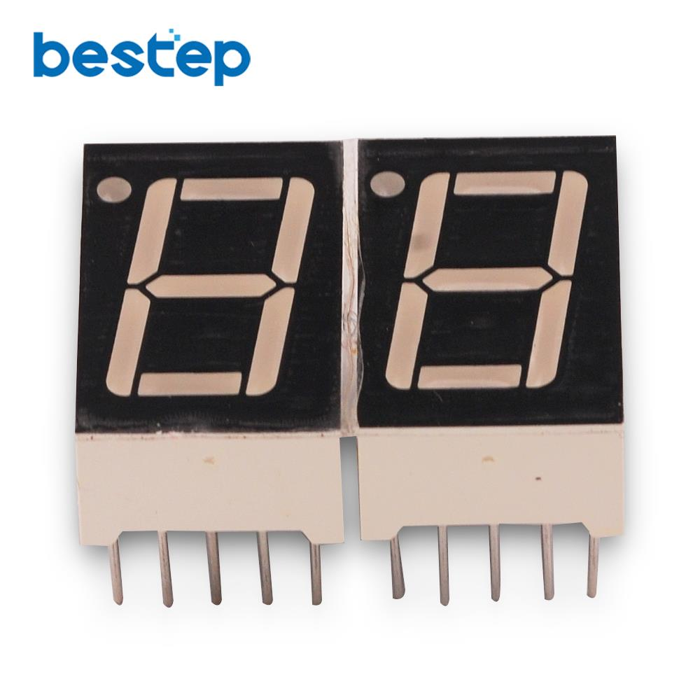 10PCS/LOT Common Anode 1Bit Digital Tube 7 Segment 0.56