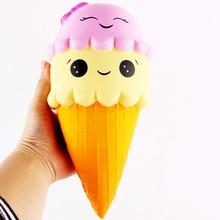 뜨거운 판매 짜내기 절묘한 재미 아이스크림 향기 나는 Squishy 매력 느린 상승 시뮬레이션 antistress 재밌는 가제 재미있는 장난감