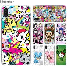 bad42a3681 Kawaii Japan Tokidoki Phone Cases for Apple iPhone 7 8 Plus 6 6s Plus X XS