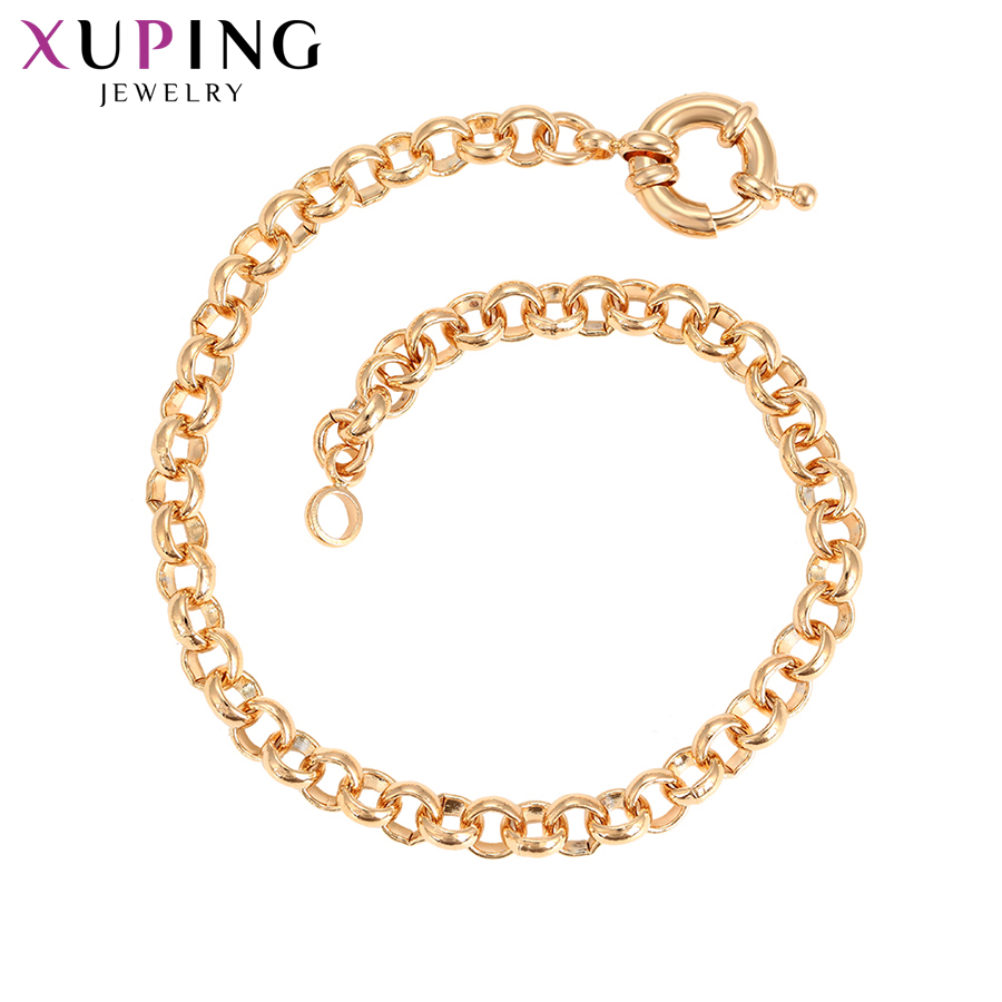 Xuping Fashion Bracelet New Arrival Elegant for Women Gold Color Plated Bracelets High Quality Jewelry S105.10-<font><b>76032</b></font> image