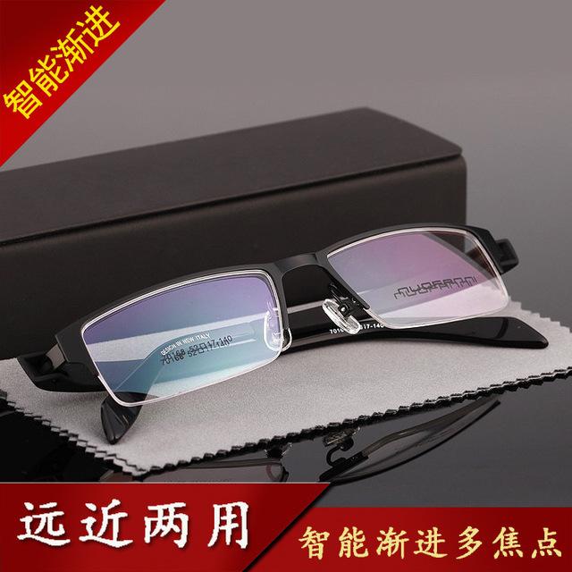 Mercancías de la Calidad de Contador especial Hombre Marco de Imagen Marco Moda Cómoda Más Foco Distancia de Doble Propósito Gafas 70168